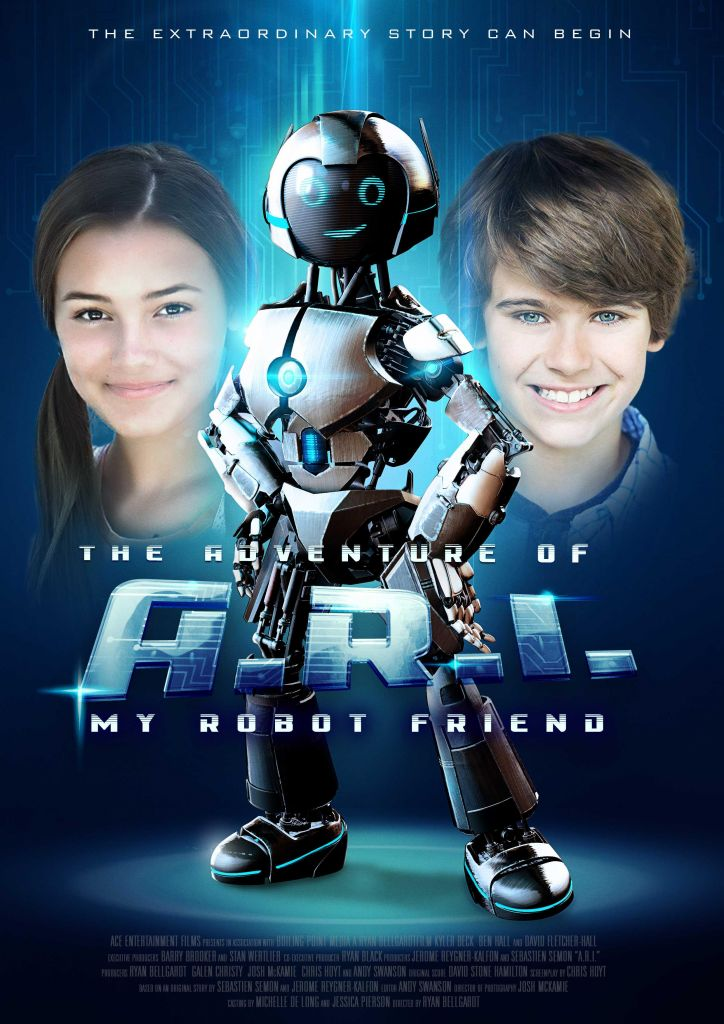 2020 Movie Poster for The Adventures Of A.R.I. My Robot Friend