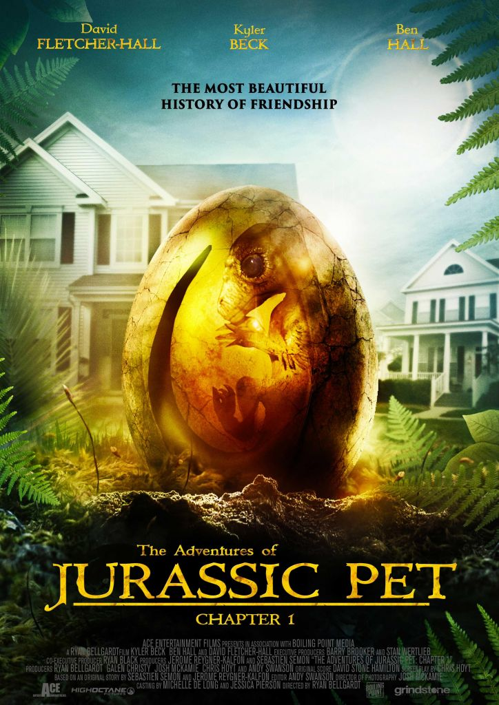 The Adventures of Jurassic Pet Chapter One 2020 Movie Poster