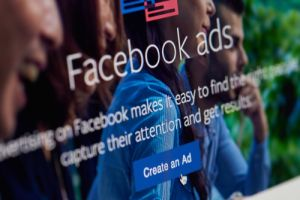 Picture of Facebook Ads login